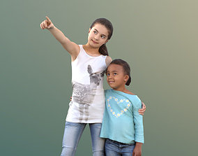 Jamila and Sophie 10053 - Casual Girls 3D asset