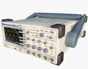 Waveform Generator Low Poly 3D asset