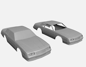 Chevrolet Monte Carlo SS 1986 3D printable model