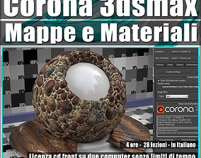 Corona 1 5 in 3dsmax 2016 Mappe e Materiali Vol 3 Cd