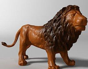 Lion 3D wild