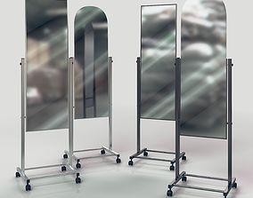 3D model Mirrors set