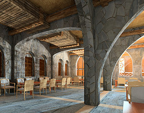 arabic 3D Revit Arabian Design Restaurant