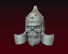 3D printable model Skull in Budenovka Budenovets