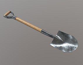 Shovel 3D asset realtime