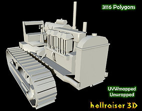 Industrial Heavy Vehicle 3D asset