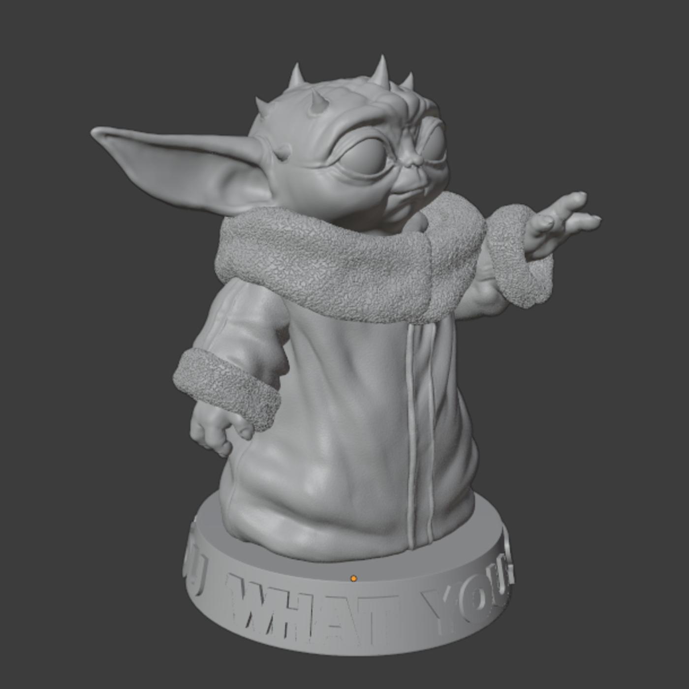 Baby Yoda Darth Maul