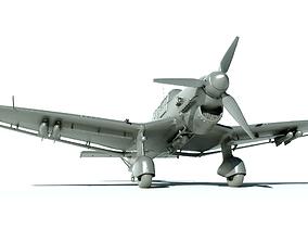 3D printable model Airplane Junkers Ju 87 for Print