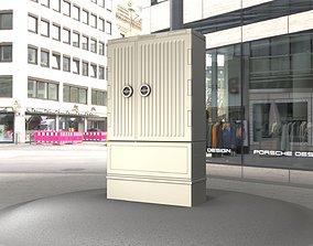 3D model Electrical Distribution Cabinet 111