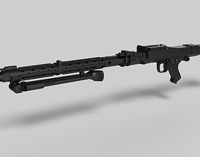 3D printable model Stormtrooper Heavy Blaster Rifle 3