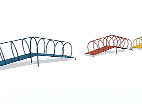 Playground object D 3D model game-ready