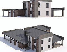 building Modern country house 3D model