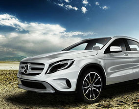 3D model Mercedes Benz GLA 2015