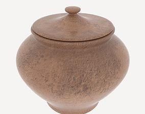 3D model Clay Pot var 5