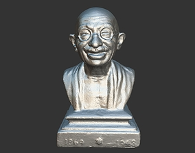 Gandhi Miniature 3DP sculpture