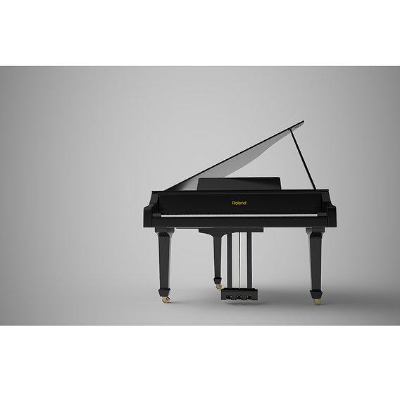 Grand V piano Modeling