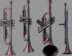 3D model trumpet Wind Instruments