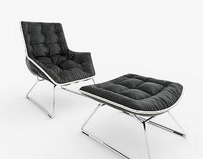 Zanotta Grandtour Chair 3D model
