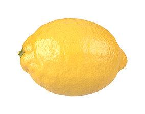Photorealistic lemon 3D Scan 3