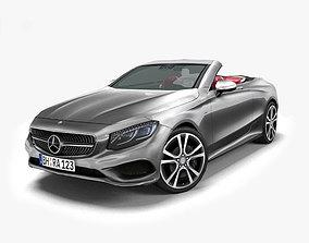 Mercedes-Benz S-Class Cabriolet 2017 3D asset