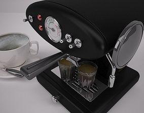3D Domestic Coffee Machine