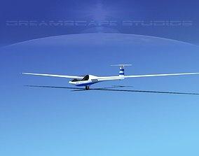Glaser Dirks DG200 15Mtr Sailplane V03 3D