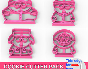 COOKIE CUTTER PACK 4 SouthPark 3D print model