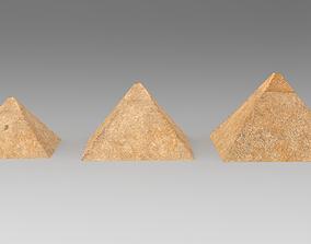 Pyramids of Giza Egypt 3D model