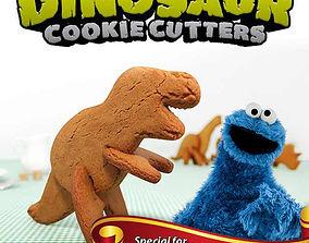 3D Dino Cookie Cutters - TRex
