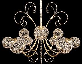 capriccio chandelier 3D model