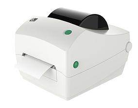 Thermal Label Printer Zebra GC420 T 3D model