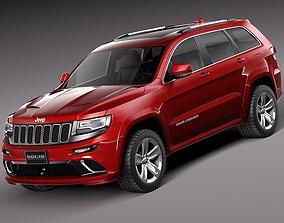 3D Jeep Grand Cherokee- SRT 2014