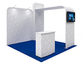 Exhibition booth 10x10ft 3DM016