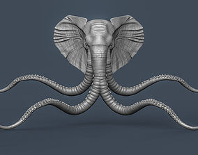 3D print model Brick lane Elephant art