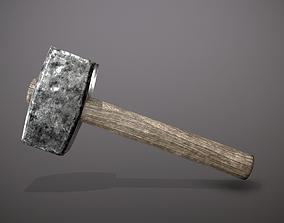 forging hammer 3D model VR / AR ready