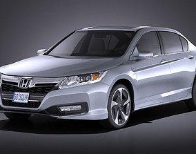 Honda Accord PHEV 2015 VRAY 3D model
