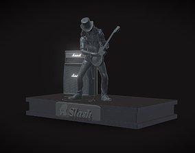 Slash - Saul Hudson 3D print model