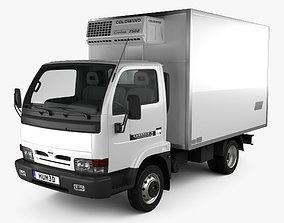 Nissan Cabstar E Box Truck 1998 3D model