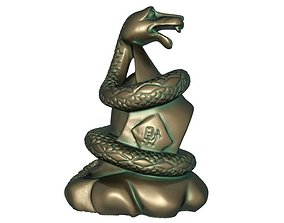 3D print model Zodiac Snake