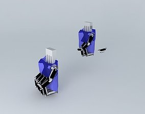 Robot hand 2 3D model