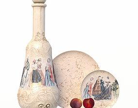 3D asset 116 bottle