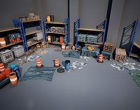 Industry Props Pack 6 3D asset