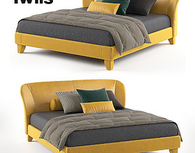 3D model Bed Carnaby