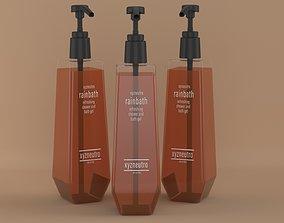 3D model Shampoo Bottle Slim