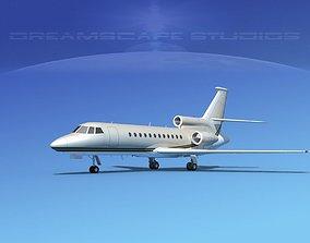 3D Dassault Falcon 900 V14