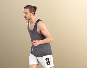 3D asset Milo 11229 - Athletic Young Man Running