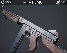 M1A1 Submachine Gun 3D asset