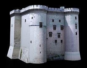 Tarascon Medieval Castle 3D asset realtime