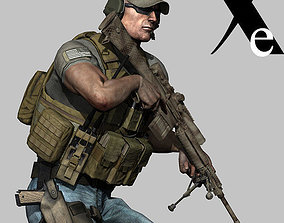 Private Military Contractor 3D