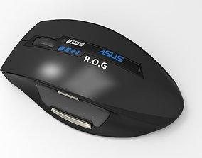 board 3D Asus ROG gaming mouse